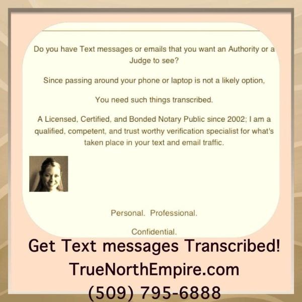 Text Message Transcription